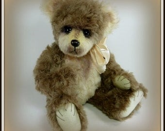 Mallory - On Sale, Teddy Bear, Handmade, Stuffed Animal, OOAK, 14 Inch