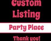Custom Listing for Jen