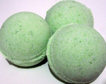 Patchouli Bath Bomb Fizzy 2.8 oz net (Handmade Natural Exfoliation, Gift idea, aromatic) Individually packaged and labeled, Stardust Soaps
