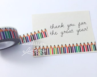 Pencils Washi Tape • Back to School (135789)