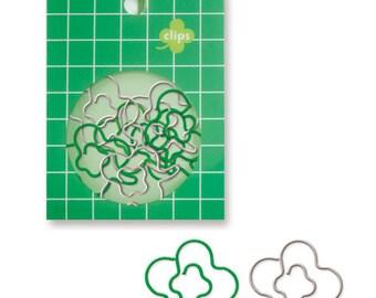 Clover Paper Clips (18pcs) Cute Paper Clips (92772)