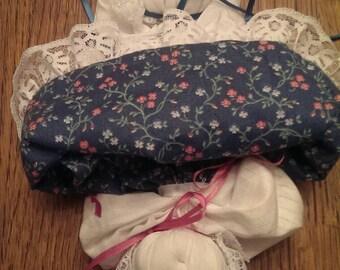 Topsy turvy Handkerchief Doll