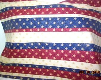 Stars and Stripes Pillowcase