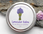 Lavender Salve, Lavender Perfume, Party Favor, Gift for Coworkers, Winter Dry Skin, Herbal Salve, Skin Salve, Solid Perfume, Lavender