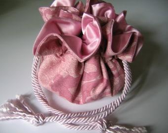 Jewelry Bag Jewelry Pouch Jewelry Organizer Pink