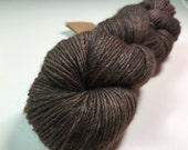 1 Skein Manos Silk Blend Brown Yarn DeStash