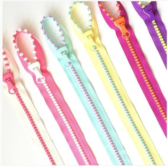 SALE Fun! Lecien Jelly Beads Zipper, Pick Color, slider & pattern for pocket tote bag