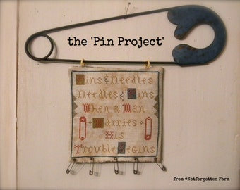 The Pin Project -  PAPER PATTERN ONLY - from ©Notforgotten Farm