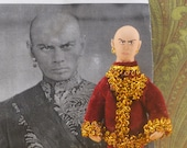 Yul Brynner Doll MIniature Old Hollywood Film Star Actor and Writer
