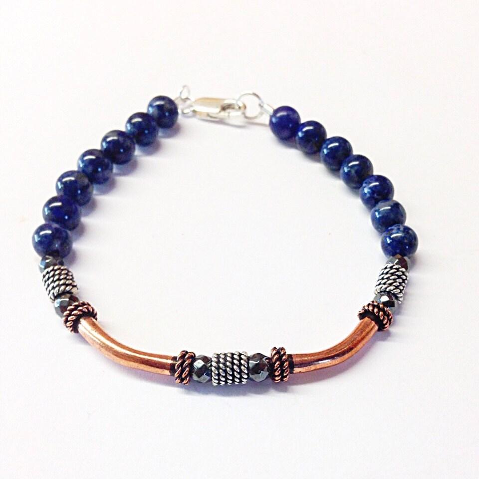 lapis lazuli bracelet lapis bracelet lapis lazuli jewelry. Black Bedroom Furniture Sets. Home Design Ideas