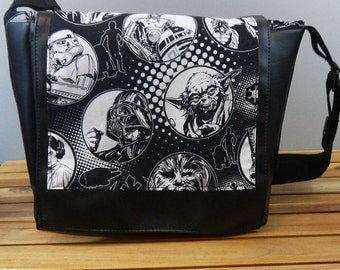Star Wars Vinyl Messenger Bag