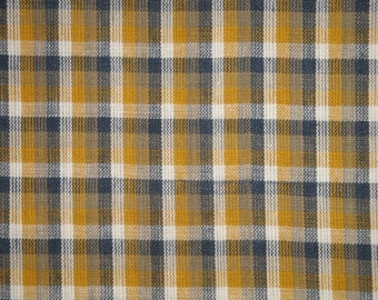 Homespun Fabric | Cotton Fabric | Home Decor Fabric | Quilt Fabric | Plaid Fabric | Apparel Fabric | Fabric Sold By The Yard