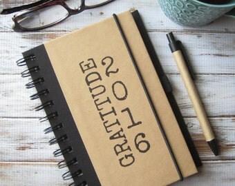 Gratitude Journal, Writing Notebook, Birthday Gift