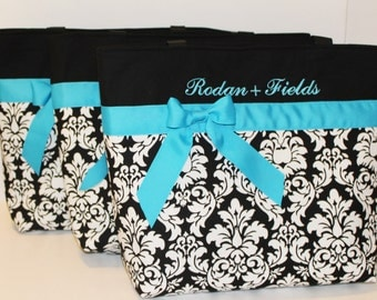 Personalized Diaper Bag . Regular size . DAMASK . Design Your Own . personalized Tote bag teacher's tote bridesmaid gift  Monogrammed FREE