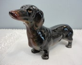 "Vintage Dachshund Dog Figurine - Japan - 7-1/2"" Long & Perfect"