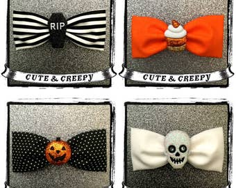 Halloween Hair Bow Package (4 Bows)