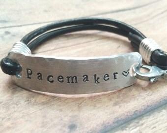 Pacemaker Bracelet Etsy