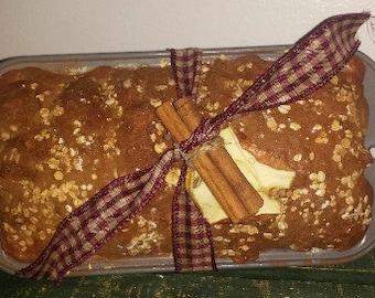 Faux Apple Cinnamon Oatmeal Bread