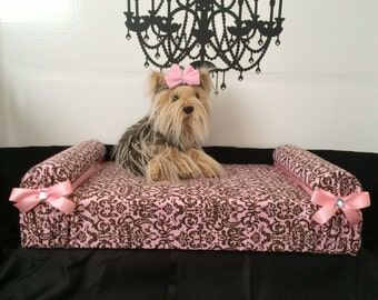 Dog Bed Pet Cat Puppy Dog Bedding Cushion Pillow Animal SaLe Dog Gift New Puppies Pooch Furniture Couch FREE Hairbow Canine