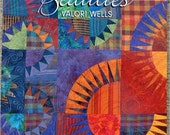 Radiant New York Beauties quilt book with patterns in it by Valori Wells destash quilting books Must Go