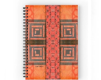 ON SALE Small Notebook,Spiral Bound Notebook,Lined Notebook,Graph Notebook,Graph Journal,Lined Paper,Gifts for Students,Gifts for Mom