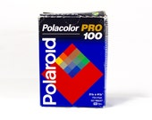 Polaroid 679 Polacolor Pro 100 Pack Film Unused in Box - Expired, For Display
