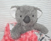 Security Blanket, baby blanket, luvi, lovie - koala bear lovems