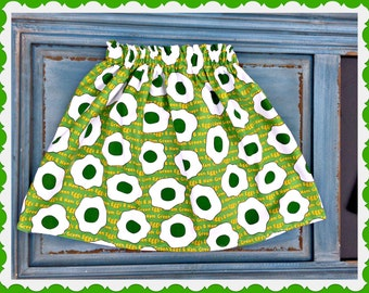 Dr. Seuss skirt Green Eggs and Ham  girls size 21mos 18mos 2t 3t 4t 5 6 7 8 10 You Pick
