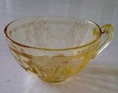 Yellow Carnival Ballerina Cup