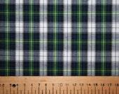 Dress Gordon style tartan cotton fabric 0.50 metre