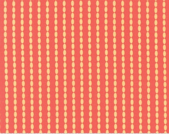 Sundrops (29015 27) Beaded Stripe Dark Coral by Corey Yoder