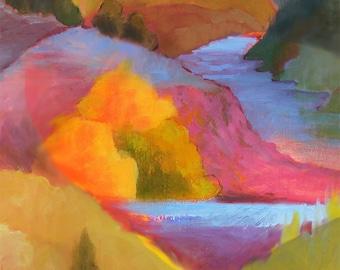 Mountain Landscape Print