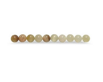 Striped Onyx 4mm Round Beads 15 beads per package Jewerly Craft fnt