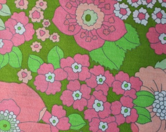 Retro vintage fabric fat quarter
