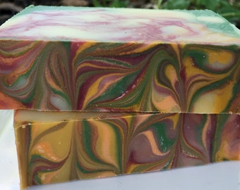 Autumn Harvest with Fig Handmade Cold Processed Soap with Cocoa Butter