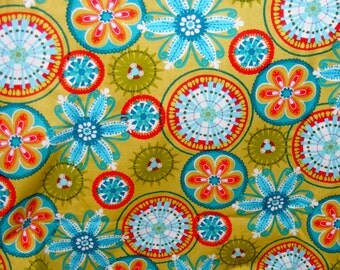 Carnival Bloom Cotton Fabric by Michael Miller