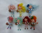 Little Painting Pretties Polymer Clay Doll Ornaments