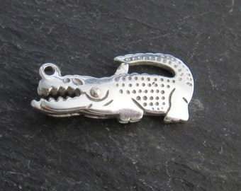 Sterling Silver Alligator Clasp 21mm (CG8822)