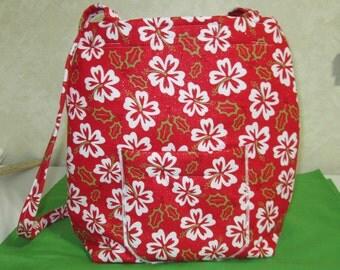 SALE--Red Holiday Handbag/Tote