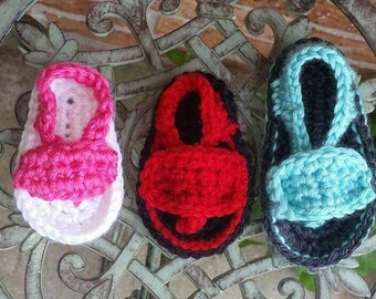 Baby Flip Flops, 0-3 Months, 3-6 Months, 6-9 Months, made to order