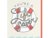 You're a Life Saver - Greeting