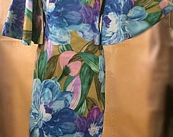 Vintage Hawaiian 'Sun Fashions' Dress