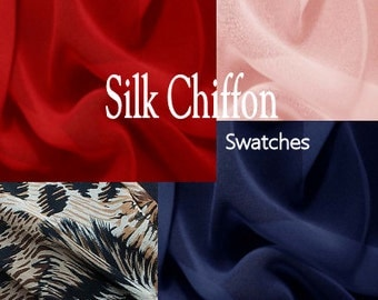Silk Chiffon Color Swatches