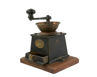 1870s Coffee Grinder by J & J Whitehouse Tipton of England, Very Well Made