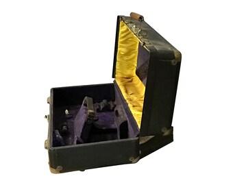1880s Clarinet Case, Vintage Music Carrying Case, Antique Luxury CG Conn