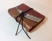 MD Remnant Collage Leather Journal by Binding Bee