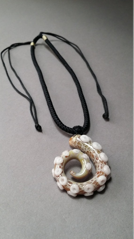Glass octopus Jewelry Tentacle Pendant for men or women
