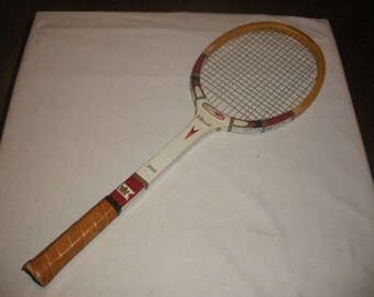 Vintage Classic All Pro Wooden Tennis Racquet Sports ManCave Wall Decor