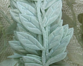 3 yds GREEN Leaf Vine Trim Scrapbooking Quilts Clothing Holiday Bridal