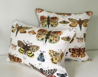 Lepidoptera Decorative Throw Pillow and Insert